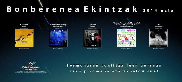 Bonberenea Ekintzak 2014 uzta
